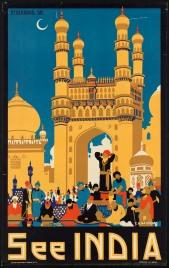 See India Poster - Charminar